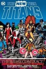 New Teen Titans The Judas Contract Deluxe Edition