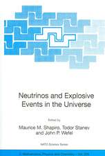 Neutrinos and Explosive Events in the Universe