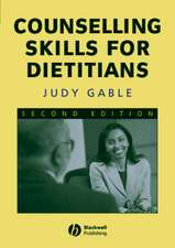 Counselling Skills for Dietitians