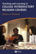 Teaching and Learning in College Introductory Religion Courses