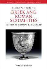 A Companion to Greek and Roman Sexualities