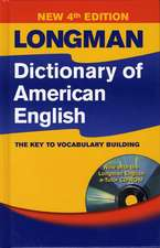 Longman Dictionary of American English Cased and CD Rom Pack