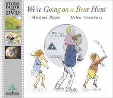 We're Going on a Bear Hunt. Book + DVD: 0-6 ani