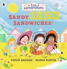 Little Adventurers: Sandy Sand Sandwiches