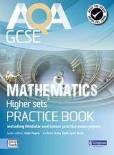 AQA GCSE Mathematics for Higher sets Practice Book