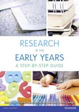 Research in the Early Years:  A Step-By-Step Guide
