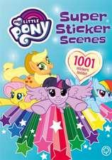 Super Sticker Scenes: 1001 Stickers