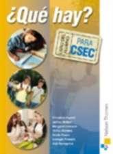 ¿ Que Hay? Libro del Alumno para CSEC