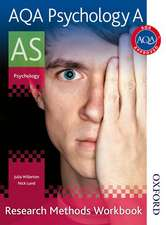 AQA Psychology A AS Research Methods Workbook