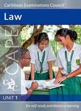 Law Cape Unit 1 A CXC Study Guide