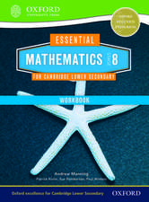 Essential Mathematics for Cambridge Lower Secondary Stage 8 Work Book