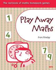 Play Away Maths - The red book of maths homework games (x10)