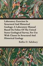Laboratory Exercises in Structural and Historical Geology; A Laboratory Manual Based on Folios of the United States Geological Survey, for Use with Cl:  Performed in a Daunce from London to Norwich