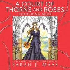Carte de colorat A Court of Thorns and Roses