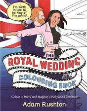 Prince Harry and Meghan Markle Colouring Book