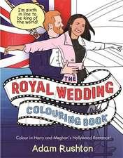 The Royal Wedding Colouring Book