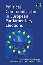 Political Communication in European Parliamentary Elections