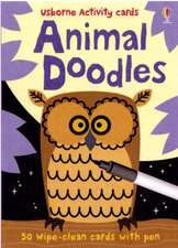 Usborne Activity Cards Animal Doodles