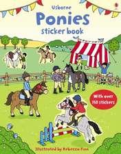 First Sticker Book Ponies
