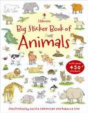 My First Big Sticker Book of Animals
