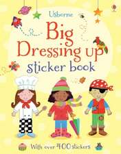 Brooks, F: Big Dressing-up Sticker Book