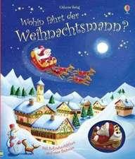 Wohin fährt der Weihnachtsmann?