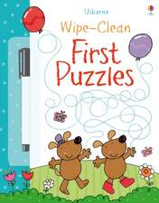 Greenwell, J: Wipe-Clean First Puzzles