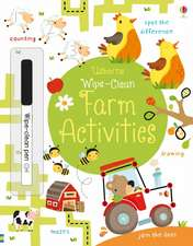 Wipe-Clean Farm Activities