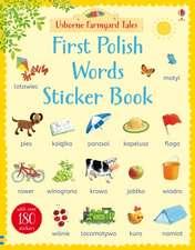 Farmyard Tales First Polish Words Sticker Book