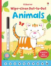 Wipe Clean Dot-to-Dot Animals