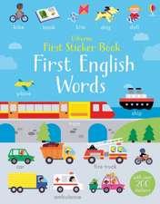First Sticker Book English Words