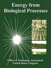 Energy from Biological Processes