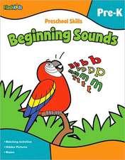 Preschool Skills:  Beginning Sounds (Flash Kids Preschool Skills)