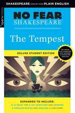 Tempest: No Fear Shakespeare Deluxe Student Edition, Volume 9