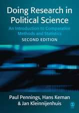 Doing Research in Political Science: An Introduction to Comparative Methods and Statistics