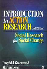 Introduction to Action Research: Social Research for Social Change