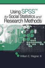Using SPSS for Social Statistics and Research Methods