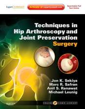 Techniques in Hip Arthroscopy and Joint Preservation Surgery: Expert Consult: Online and Print with  DVD