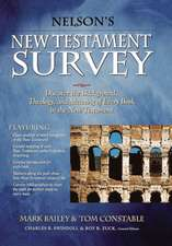 Nelson's New Testament Survey: Discovering the Essence, Background and   Meaning About Every New Testament Book