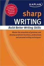 Sharp Writing