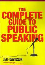 The Complete Guide to Public Speaking:  Sociobiology