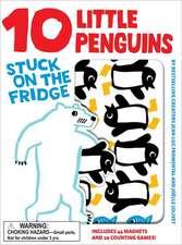 10 Little Penguins Stuck on the Fridge