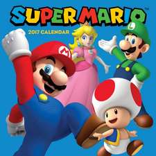 Super Mario Brothers 2017 Wall Calendar:  Featuring the Greatest Golf Courses Around the World