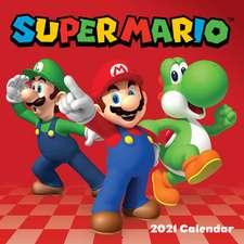 Super Mario 2021 Wall Calendar