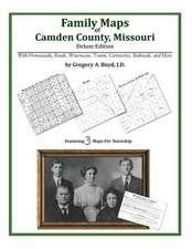 Family Maps of Camden County, Missouri