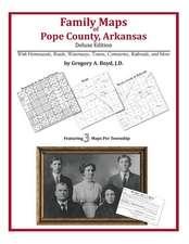 Family Maps of Pope County, Arkansas