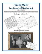 Family Maps of Lee County, Mississippi