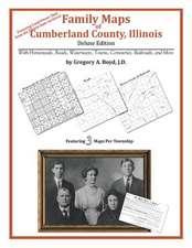 Family Maps of Cumberland County, Illinois