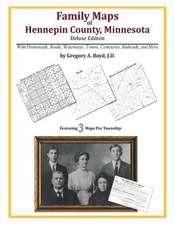 Family Maps of Hennepin County, Minnesota