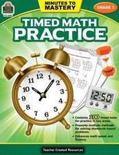 Minutes to Mastery-Timed Math Practice Grade 3